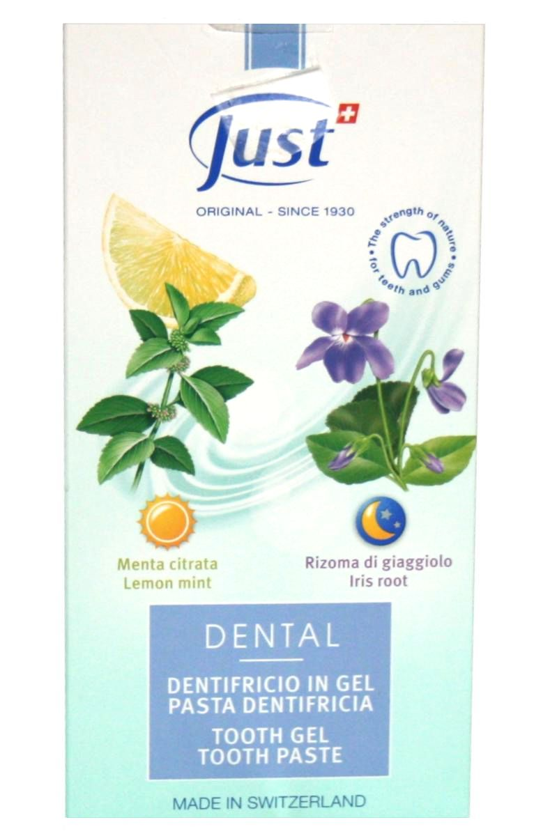 JUST Zubní pasta 60 ml a gel 90 ml