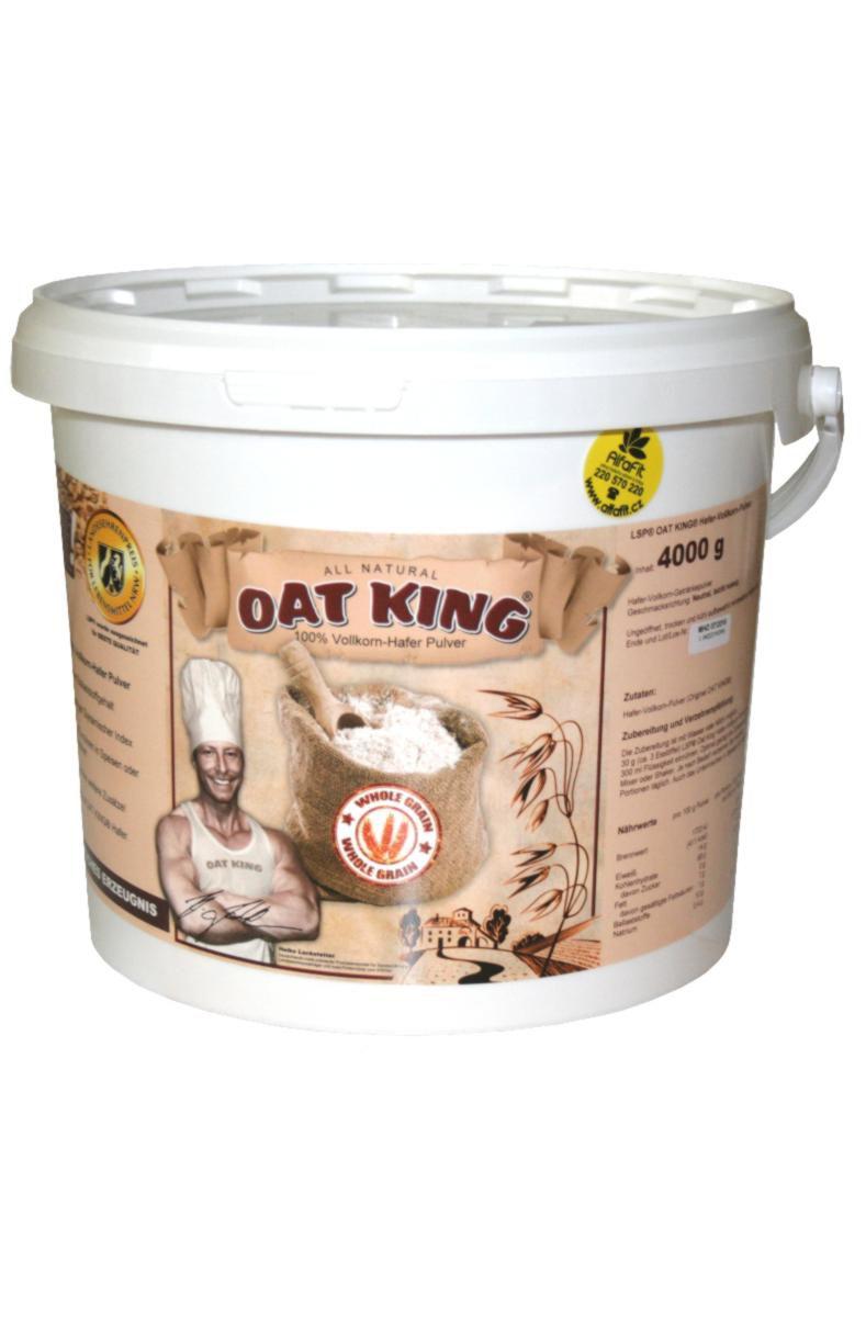 Oat King Prášek z celozrnného ovsa 4 kg