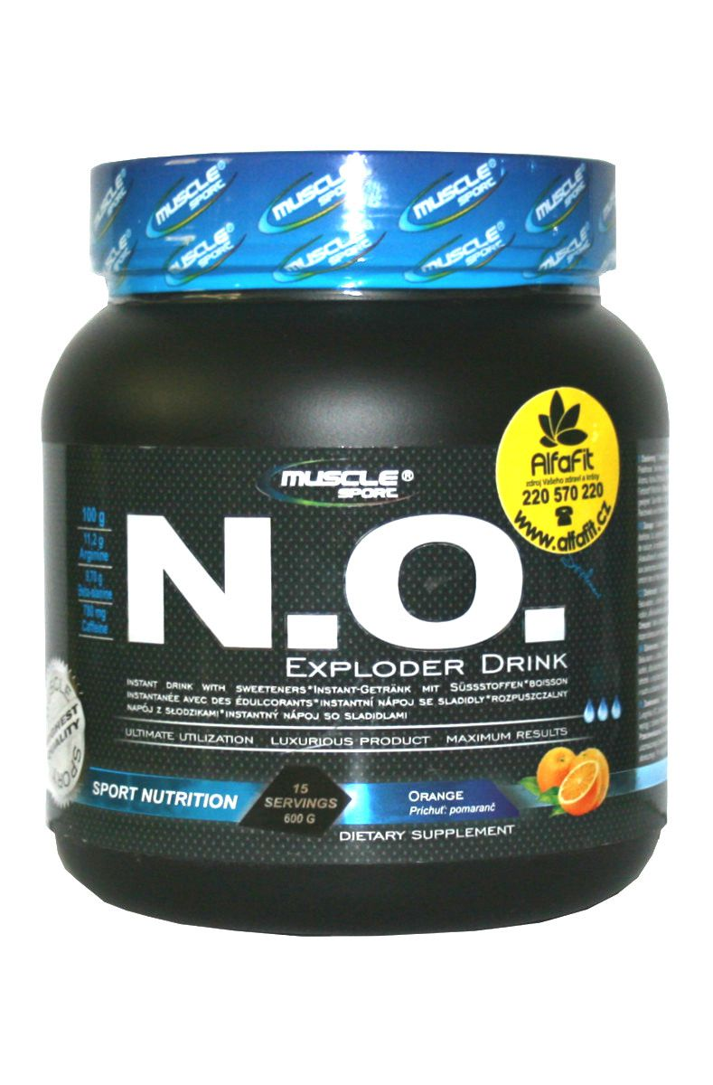Muscle Sport NO Exploder Drink 600 g