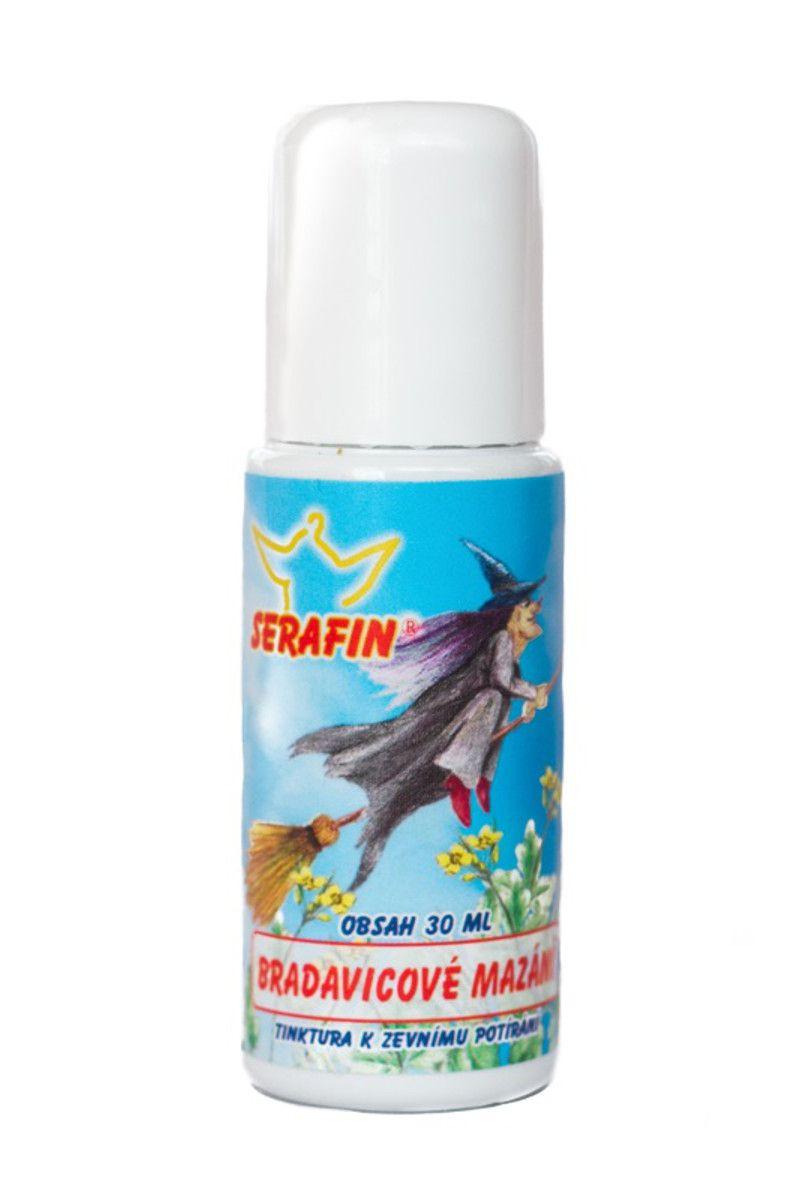 Serafin Bradavicové mazání - Tinktura 30 ml