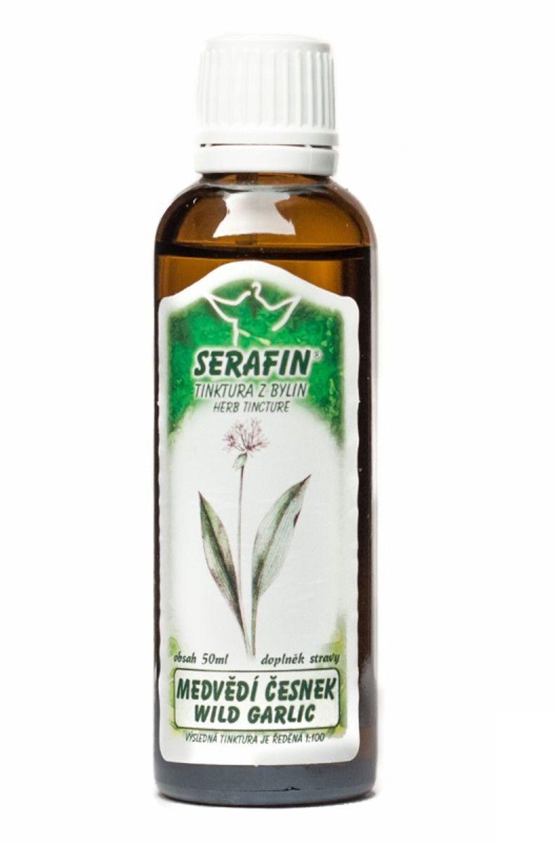 Serafin Česnek medvědí - Tinktura z bylin 50 ml