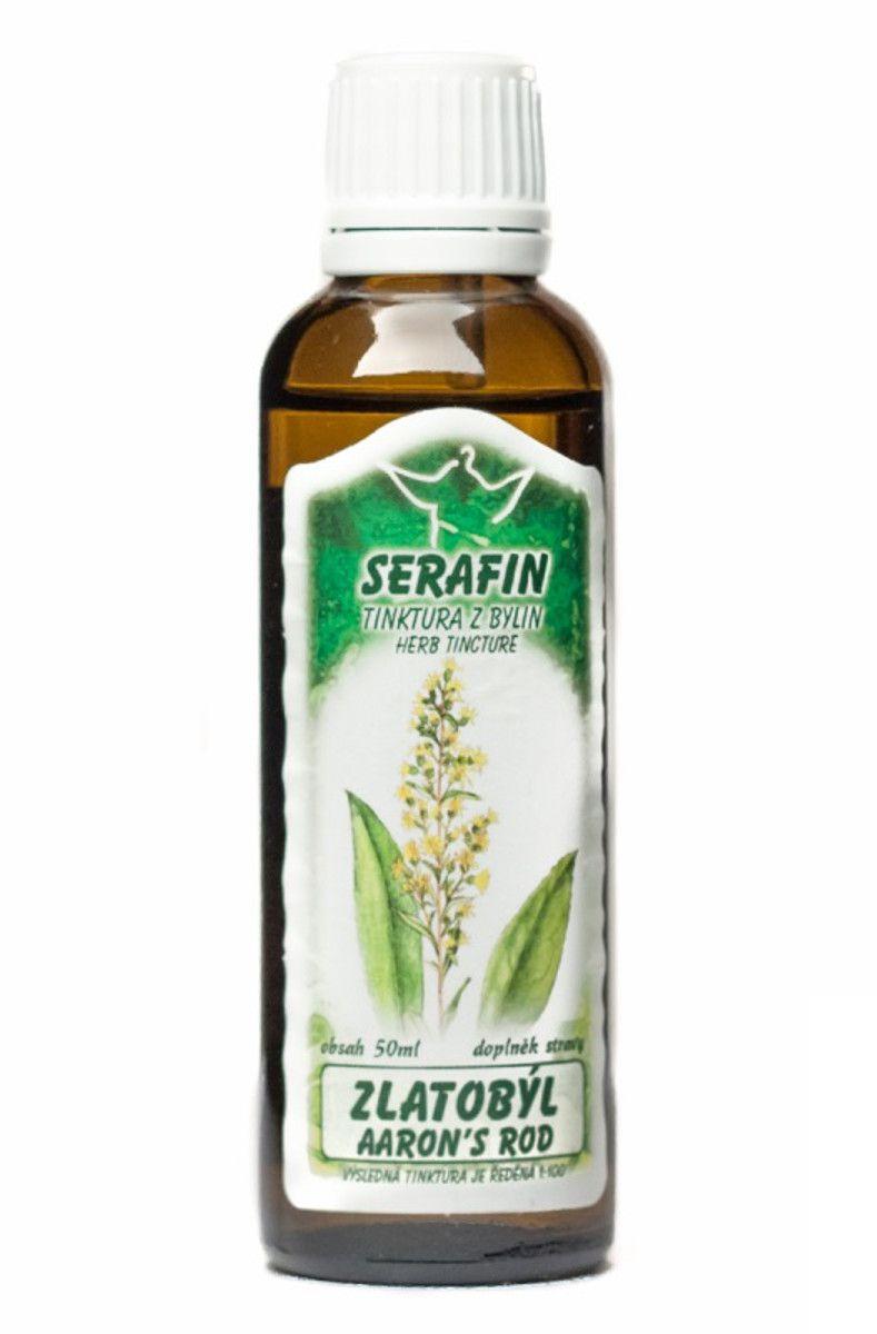 Serafin Zlatobýl - Tinktura z bylin 50 ml
