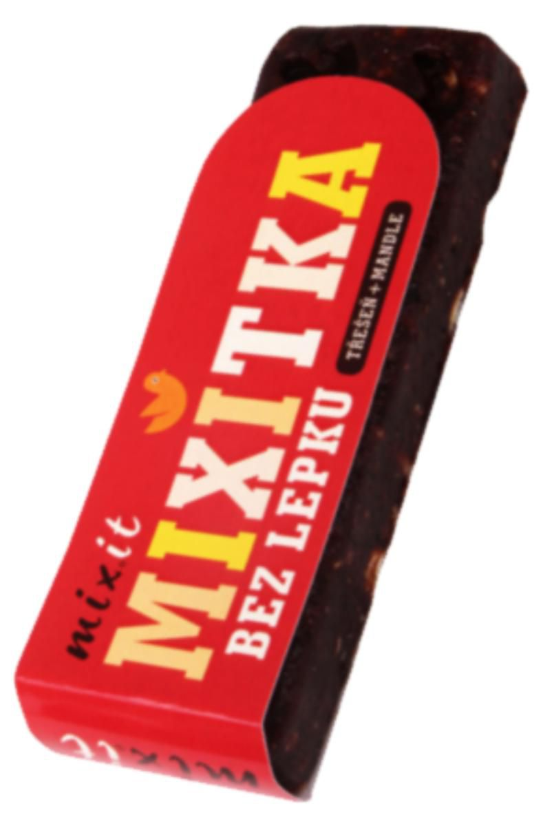 Mixit Tyčinka Mixitka BEZ LEPKU 50 g – příchuť třešeň & mandle