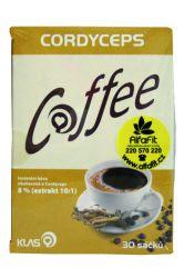 Klas Coffee Cordyceps 30 sáčků + doprava ZDARMA