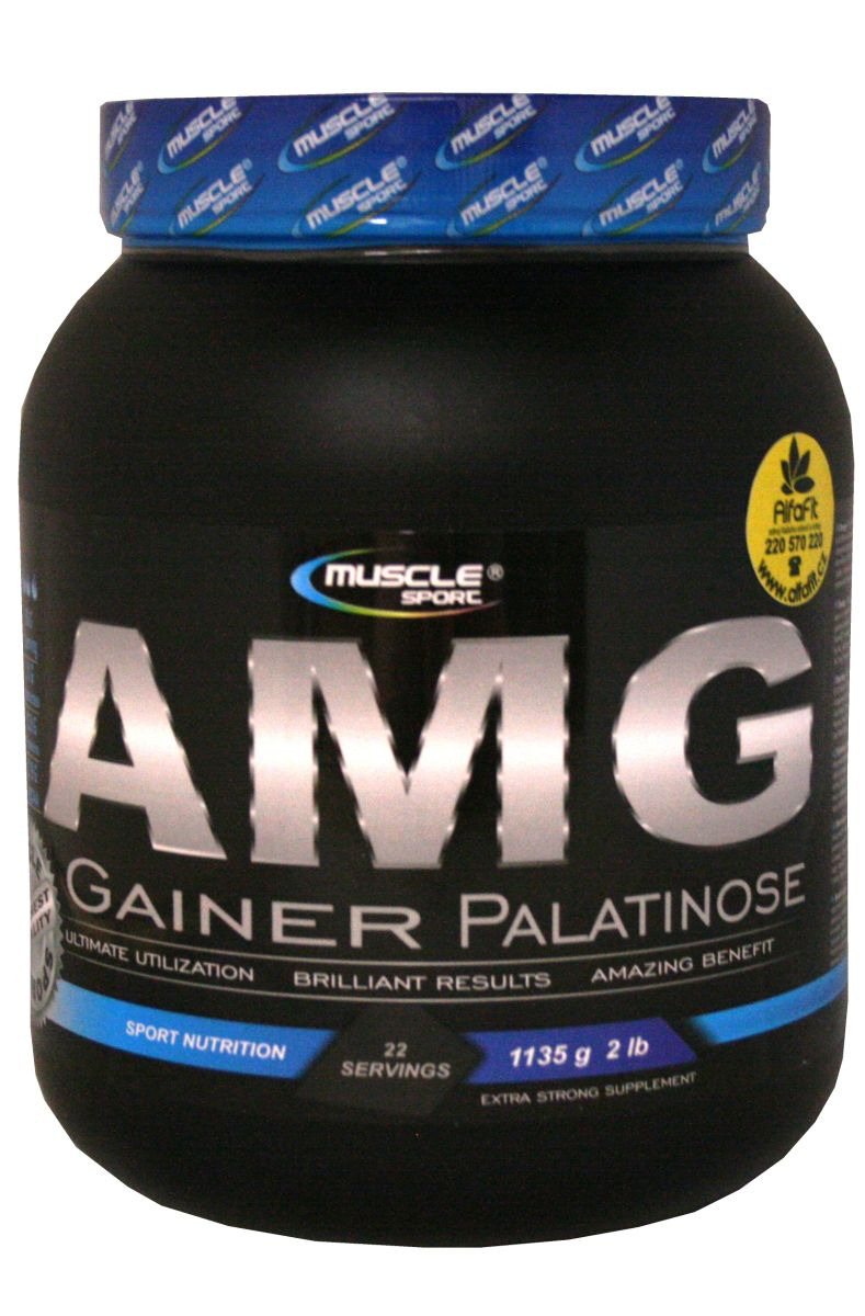 Muscle Sport AMG Gainer Palatinose 1135 g