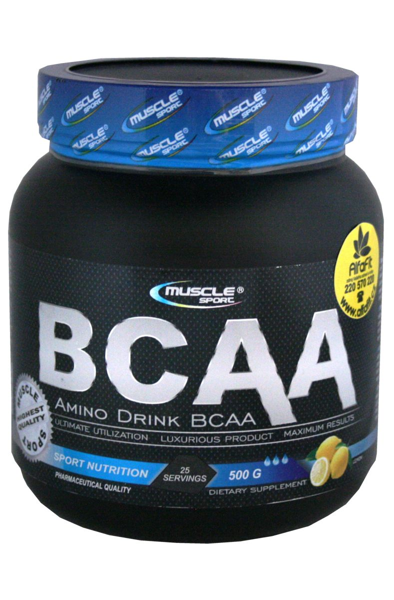 Muscle Sport BCAA Amino Drink 500 g