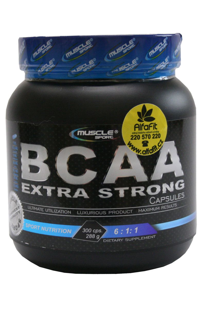 Muscle Sport BCAA Extra Stron 6:1:1