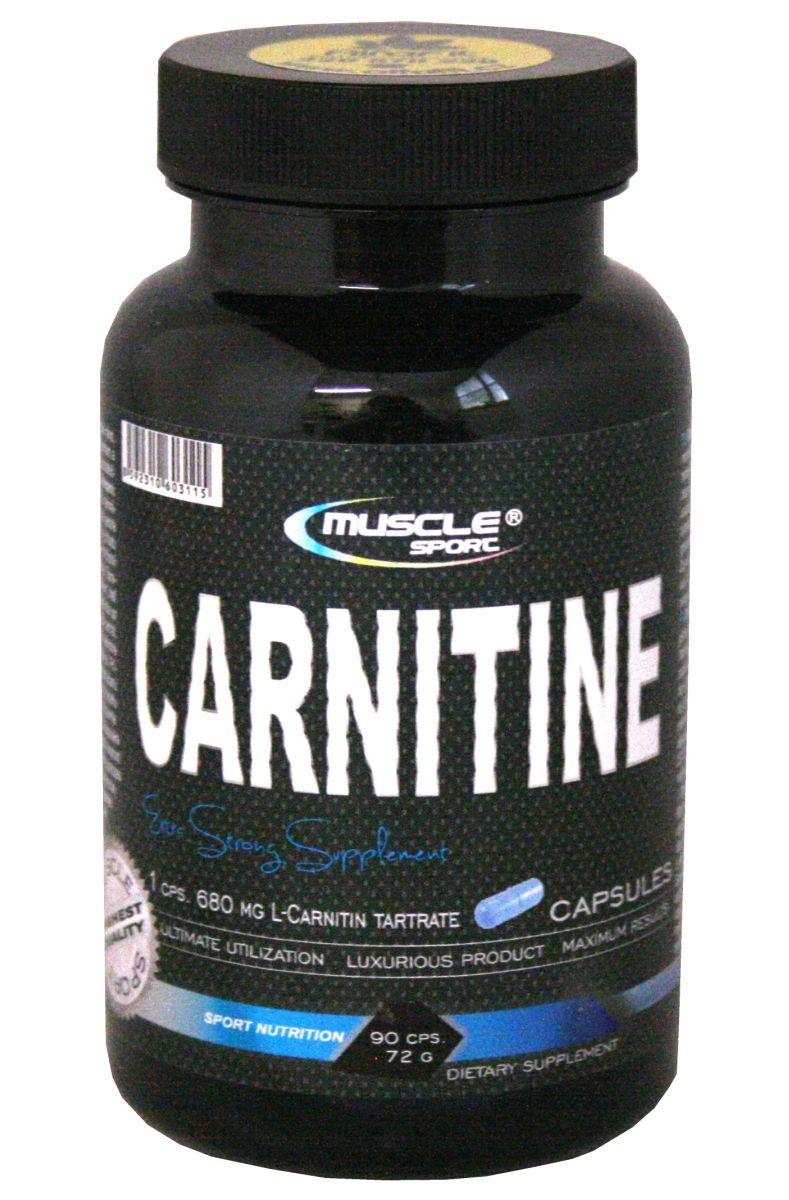 Muscle Sport L-Carnitine 90 kapslí