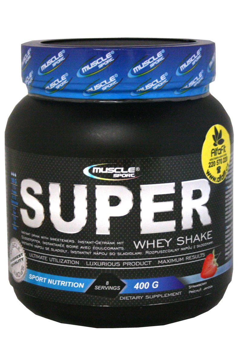 Muscle Sport Super Whey Shake 400 g