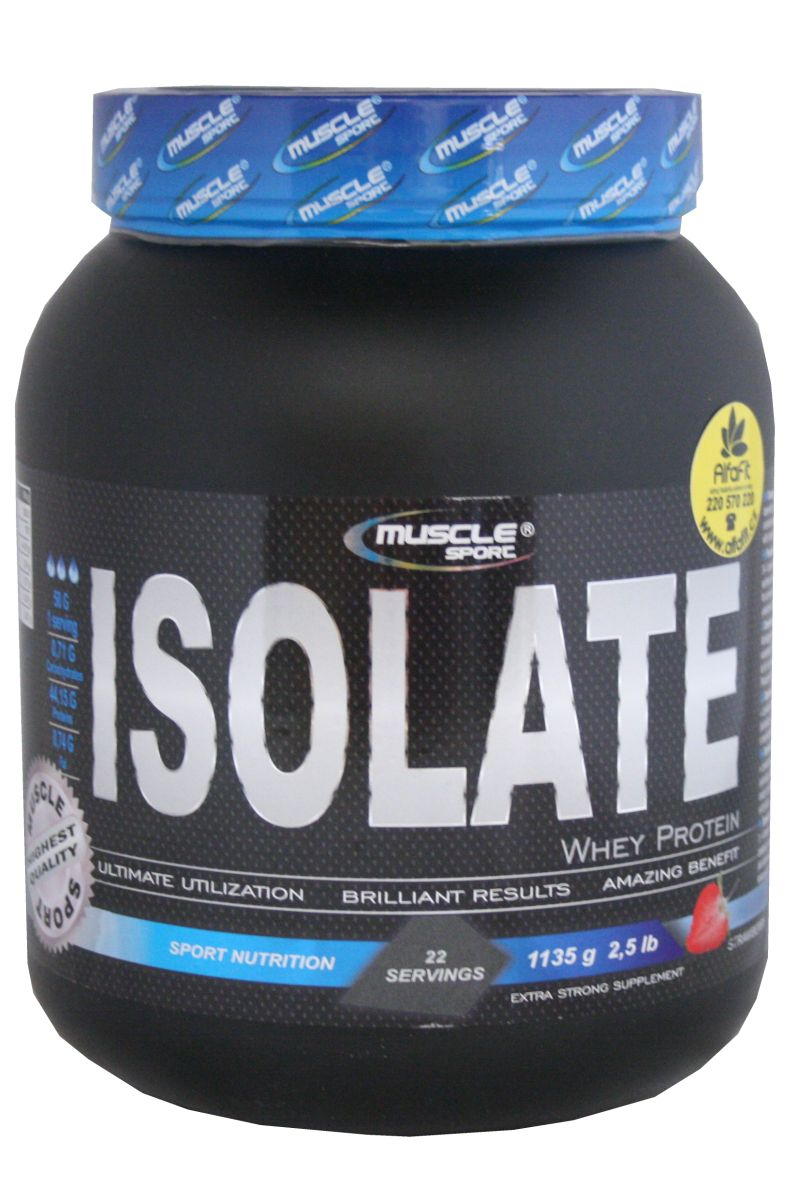 Muscle Sport Whey Isolate 1135 g