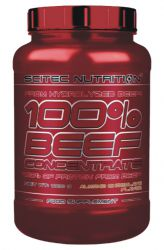 Scitec 100% Beef Concentrate 1000 g příchuť malina