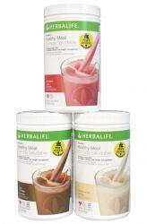 SET 3x Herbalife Formula 1 - Gesunde Mahlzeit Cocktail 750 g