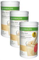 SET 3x Herbalife Formula 1 Alternative ─ Healty Meal (cocktail) vanilla 810 g