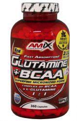 Amix Glutamine + BCAA 360 capsules
