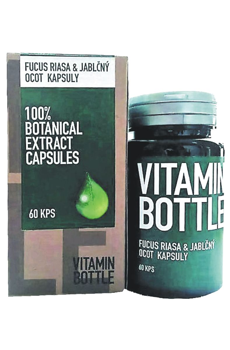 Good Nature Vitamin bottle – Fucus řasa & jablečný ocet 60 kapslí