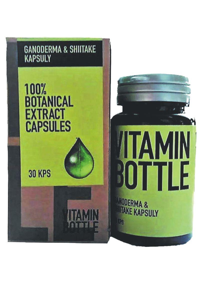 Good Nature Vitamin bottle - Ganoderma & Shiitake 30 kapslí