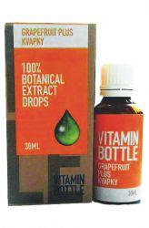Good Nature Vitamin bottle - Grapefruit plus 30 ml - doplněk stravy, kapky