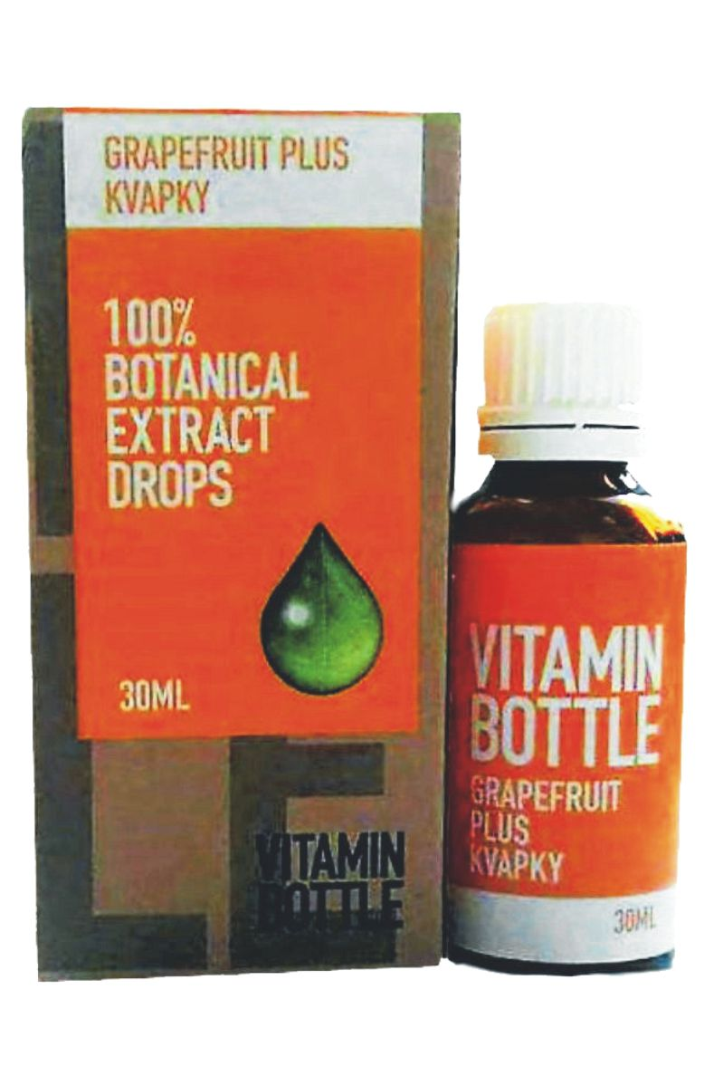 Good Nature Vitamin bottle - Grapefruit plus 30 ml