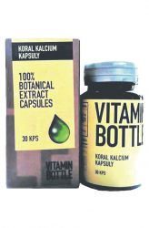 Good Nature Vitamin bottle – Koral kalcium 30 kapslí