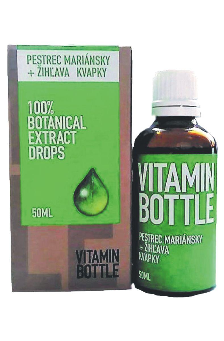 Good Nature Vitamin bottle - Ostropestřec mariánský & kopřiva 50 ml