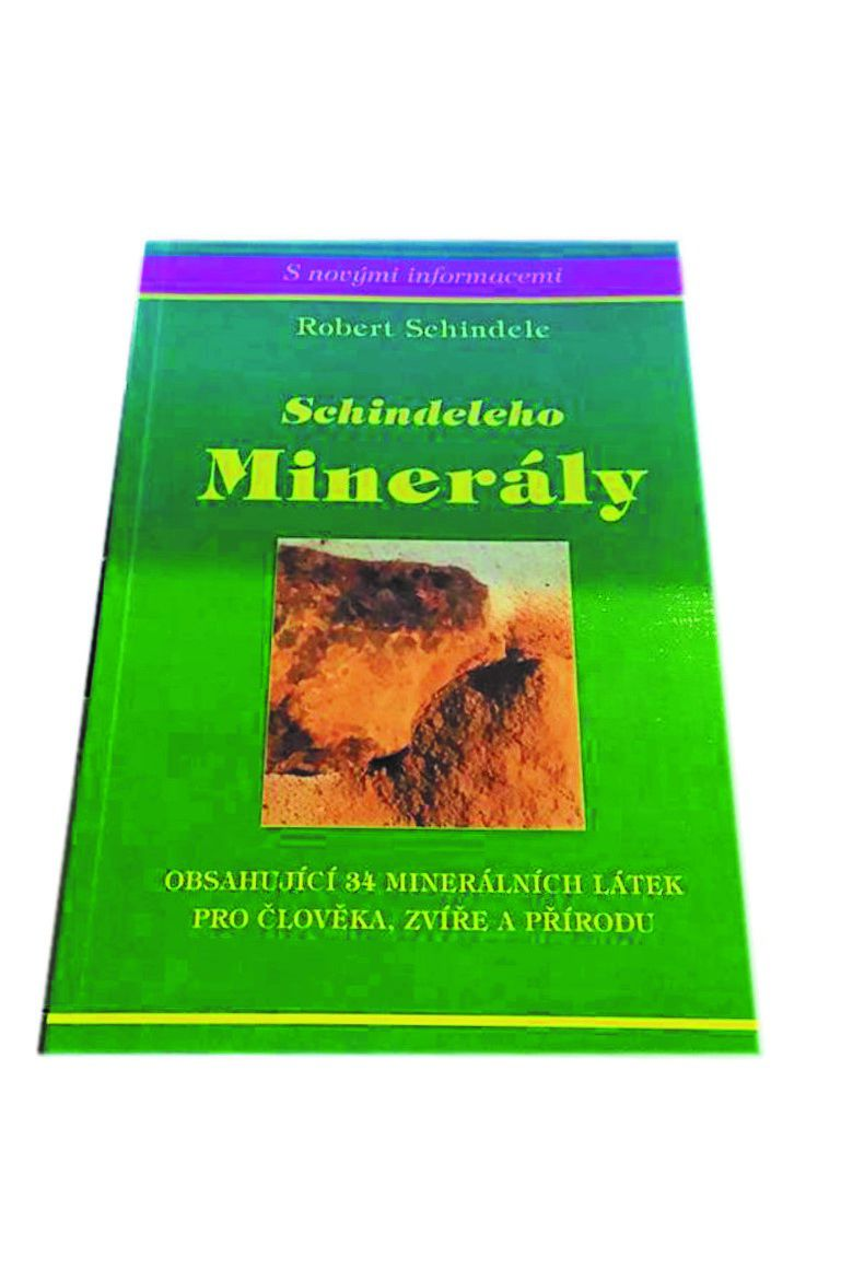 Kniha Schindeleho minerály - Robert Schindele