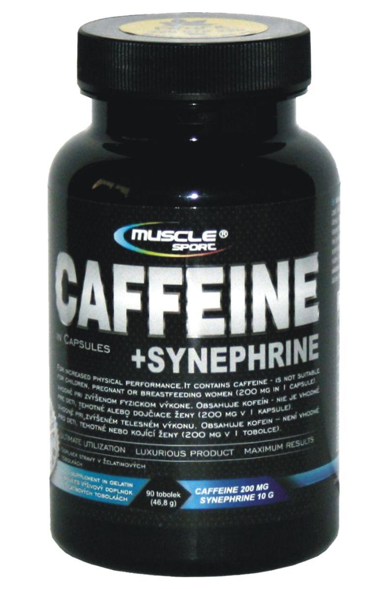 Muscle Sport Caffeine + Synephrine 90 kapslí
