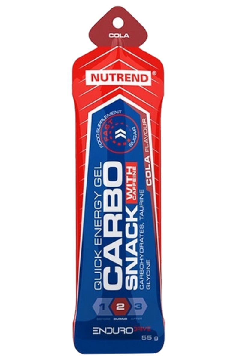Nutrend Carbosnack with caffeine sáček 55 g