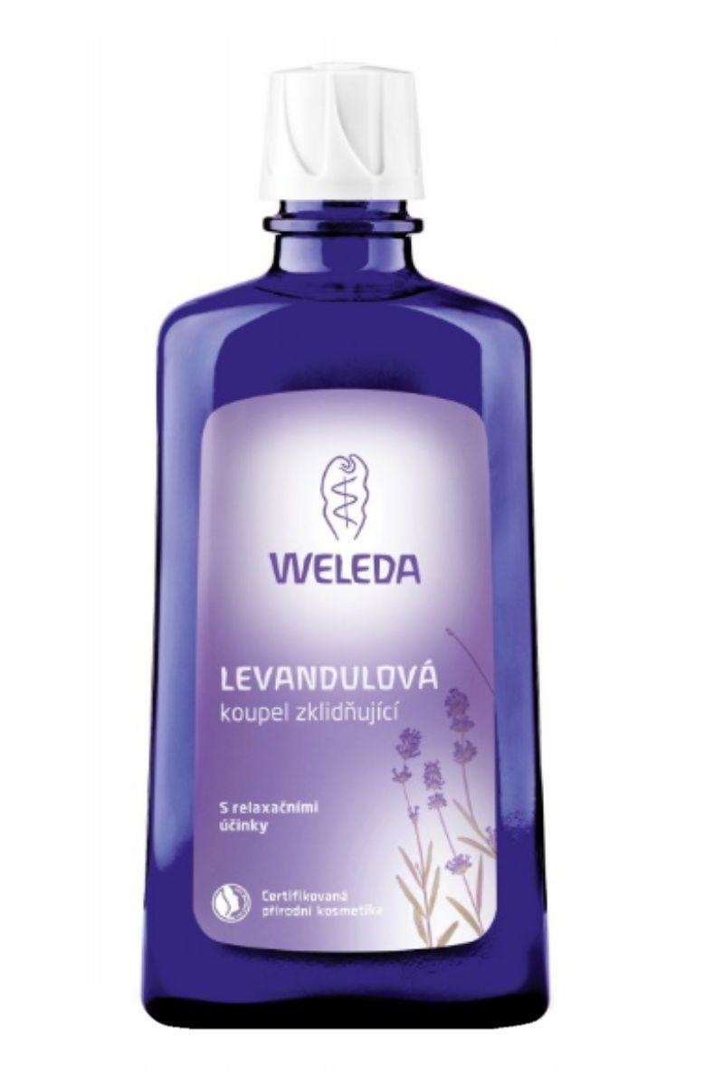 Weleda Levandulová koupel zklidňující 200 ml
