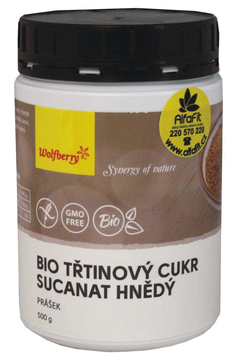Wolfberry BIO Třtinový cukr 500 g