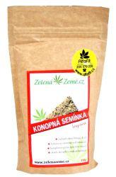 Zelená Země Konopná semínka loupaná 150 g