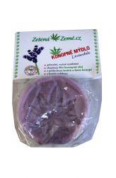 Zelená Země Konopné mýdlo – levandule 80 g