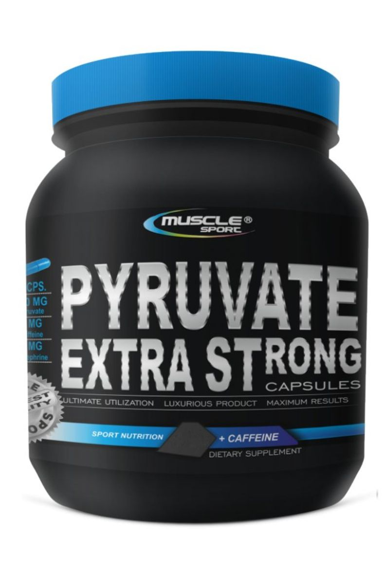Muscle Sport Pyruvate Extra Strong 100 kapslí