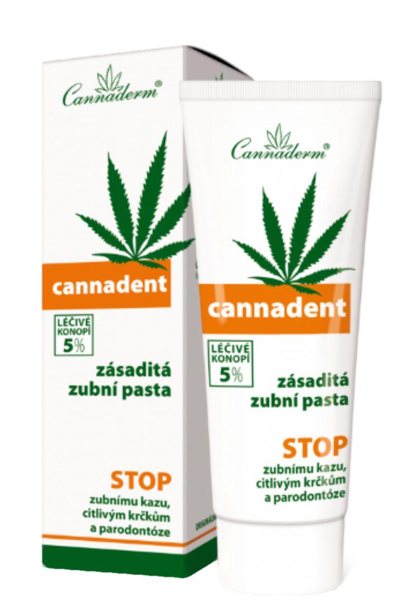 Cannaderm Cannadent zubní pasta 75 g