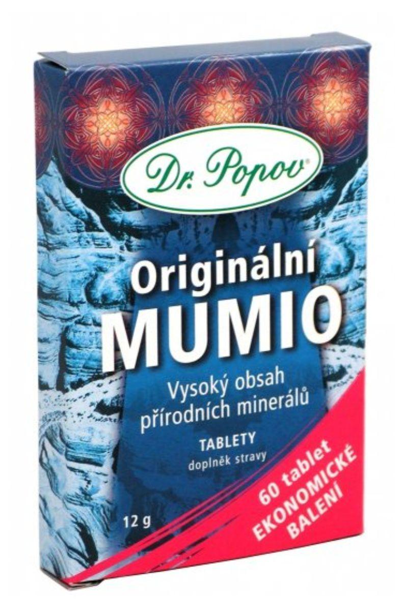 Dr. Popov Mumio 12 g - 60 tablet