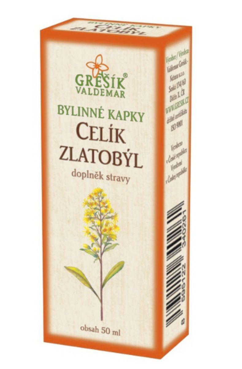 Grešík Celík zlatobýl bylinné kapky 50 ml