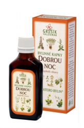 Grešík Good Night Herb Drops 50 ml