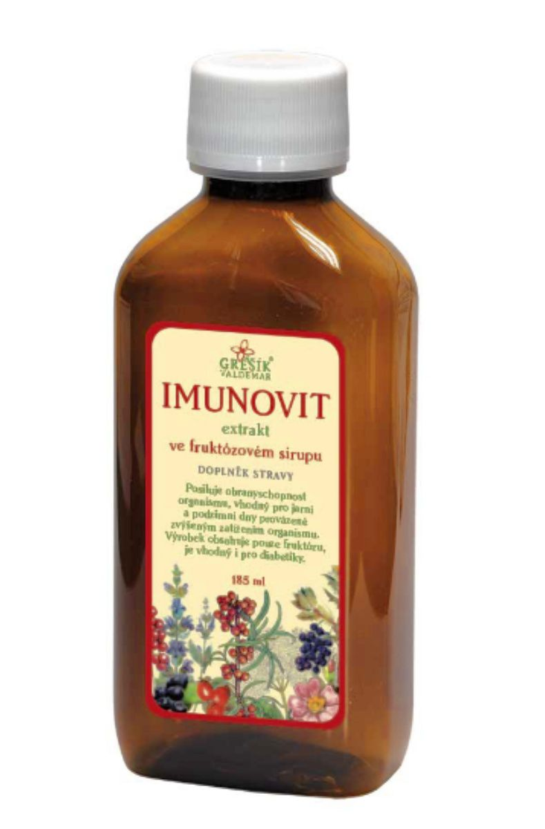 Grešík Imunovit sirup 185 ml