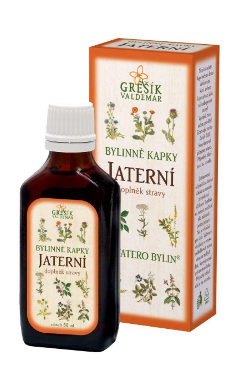 Grešík Jaterní bylinné kapky 50 ml