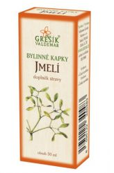 Grešík Mistletoe Herb Drops 50 ml