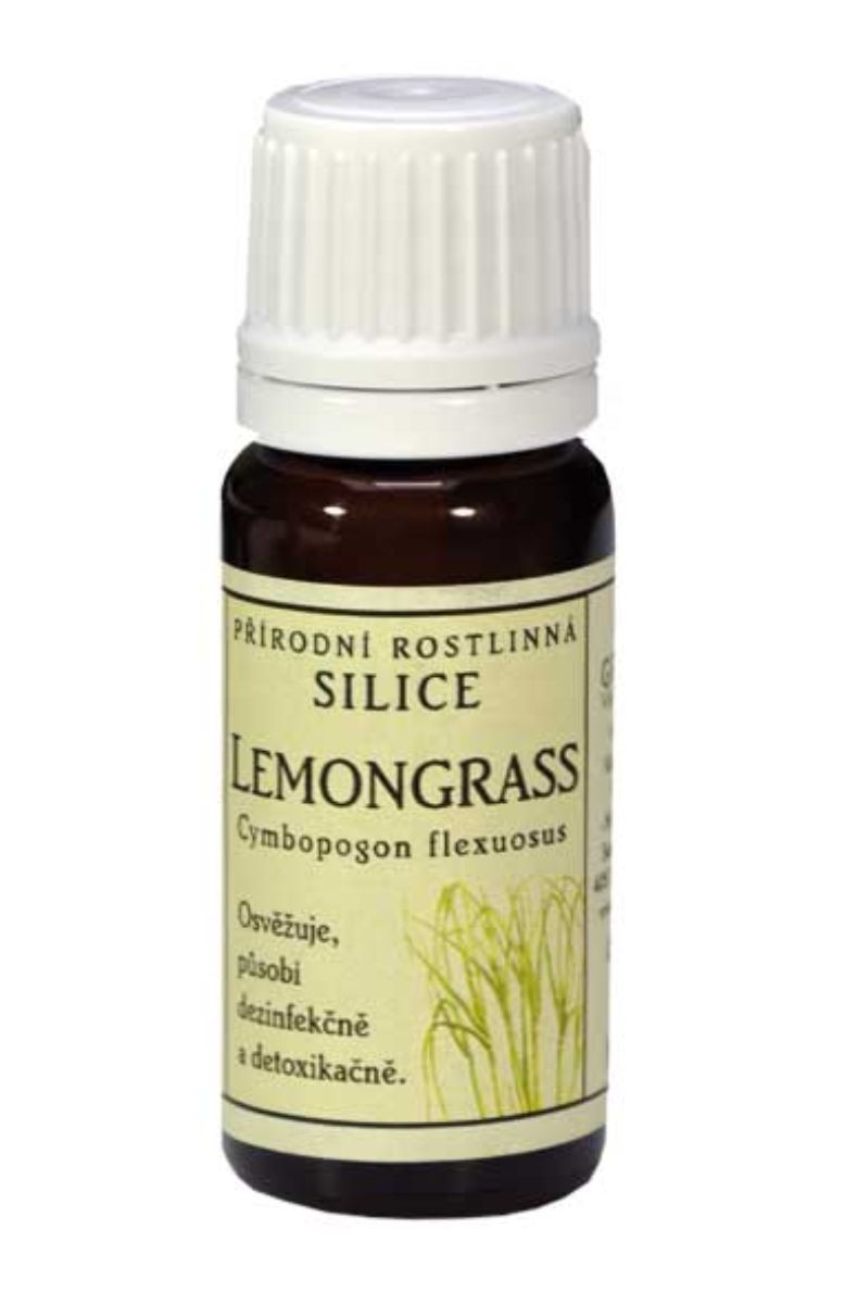 Grešík Lemongrass přírodní silice 10 ml