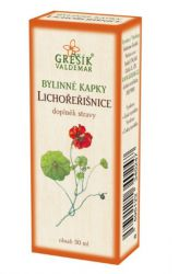 Grešík Kapuzinerkresse Kräutertropfen 50 ml