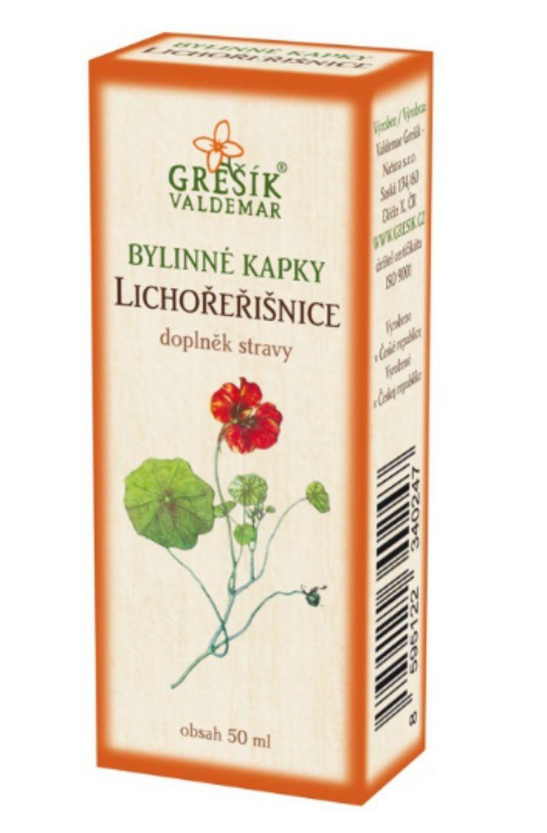 Grešík Lichořeřišnice bylinné kapky 50 ml