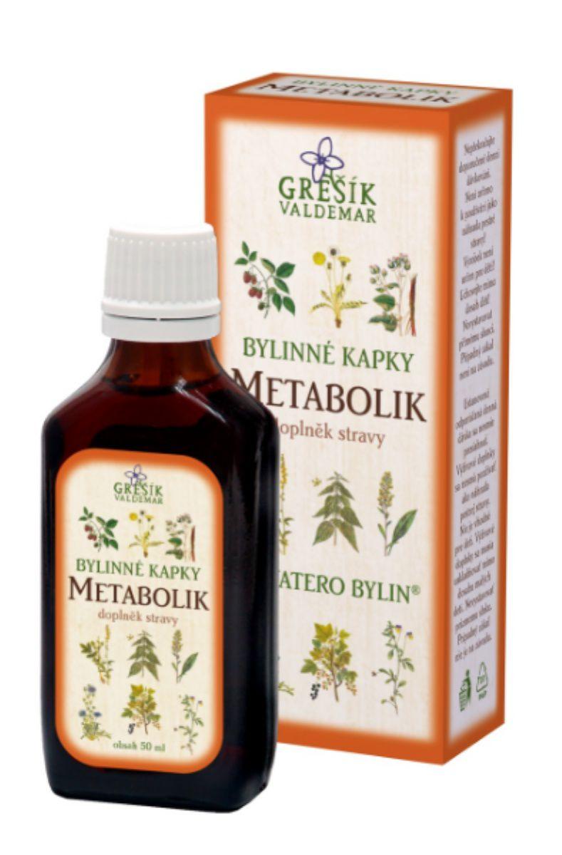 Grešík Metabolik bylinné kapky 50 ml