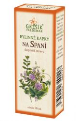 Grešík To Sleep Herb Drops 50 ml
