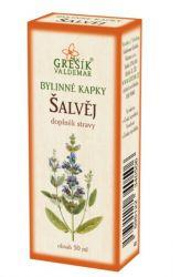 Grešík Šalvěj bylinné kapky 50 ml