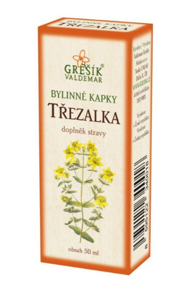 Grešík Třezalka bylinné kapky 50 ml