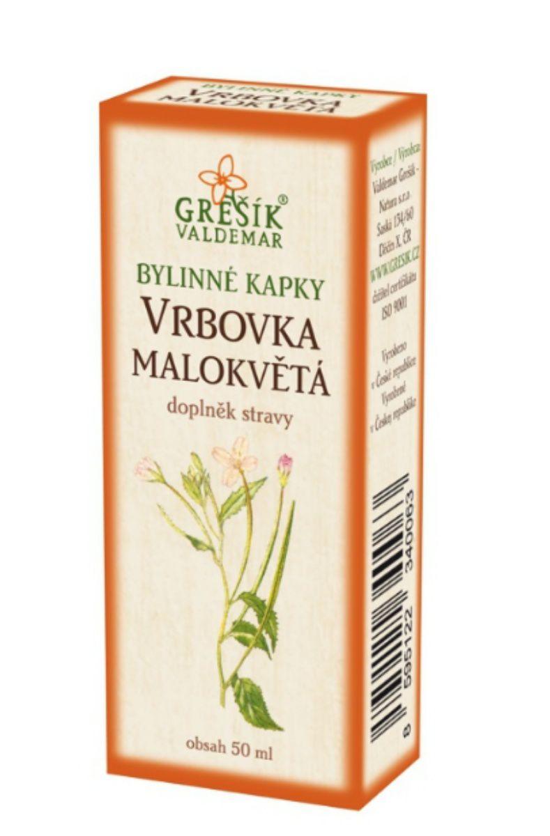 Grešík Vrbovka bylinné kapky 50 ml