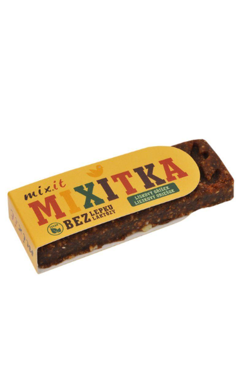 Mixit Tyčinka Mixitka BEZ LEPKU 50 g - příchuť lískový ořech