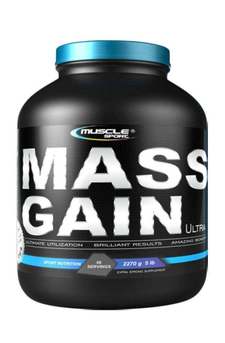 Muscle Sport Mass Gain Ultra 2270 g lískový oříšek