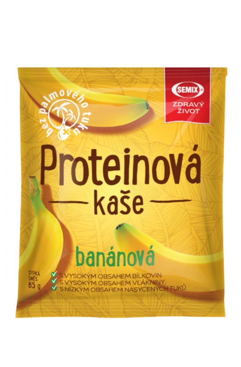 Semix Proteinová kaše 65 g - příchuť banán